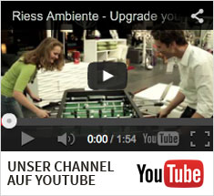 Link zum Riess Ambiente Youtube Channel